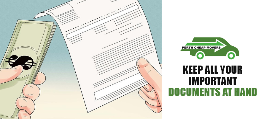 Keep Important Documents at Hand