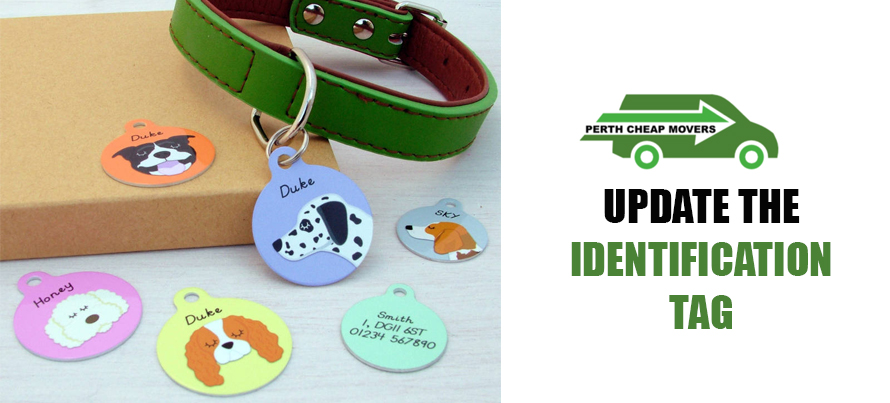Update the Identification Tag