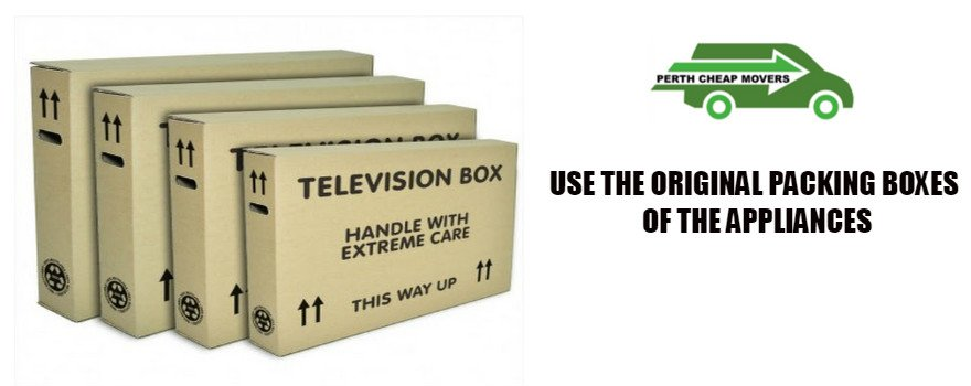 use original packing boxes