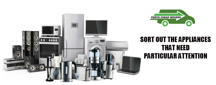 sorting electrical appliances