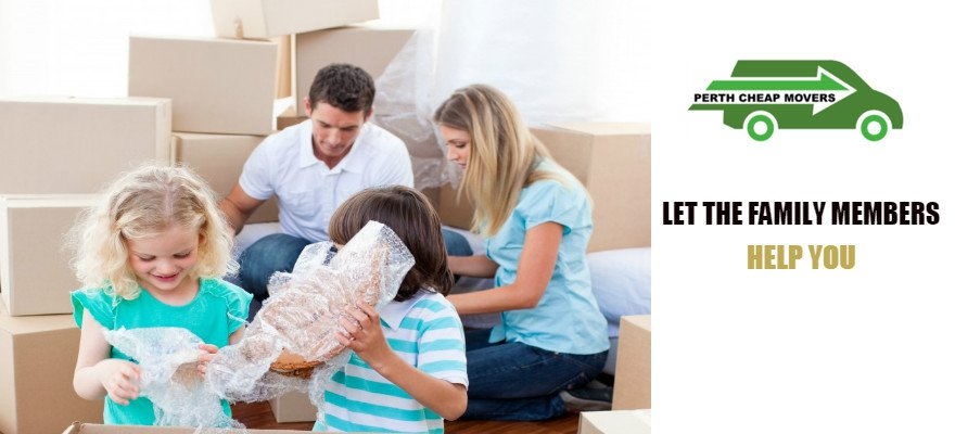 let family members help in moving